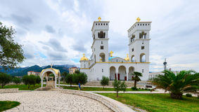 La cattedrale della st John Vladimir, Antivari, Montenegro Fotografia Stock Libera da Diritti