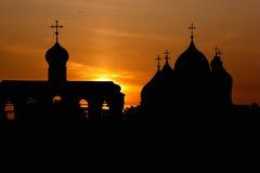 La cattedrale della st Sophia in Novgorod Immagini Stock Libere da Diritti