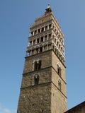 La cattedrale della st Zeno - Pistoia Toscana fotografie stock