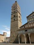 La cattedrale della st Zeno - Pistoia Toscana fotografia stock libera da diritti