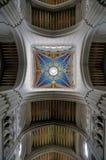 La cattedrale di Almudena a Madrid, Spagna Immagini Stock