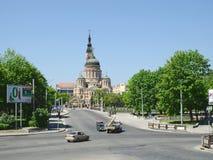 La cattedrale di annuncio, Kharkov, 2013. fotografia stock