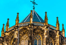 La cattedrale di Aquisgrana, anche alta cattedrale di Aquisgrana, Germania Fotografia Stock