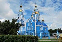 La cattedrale di ascensione del salvatore in Ul'janovsk fotografia stock