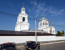 La cattedrale di ascensione nella città di Kalac fotografia stock