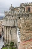 La cattedrale di Avila. Immagini Stock Libere da Diritti