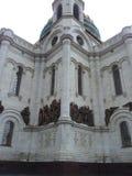 La cattedrale di Christ il salvatore, Mosca, Russia Fotografia Stock Libera da Diritti