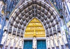 La cattedrale di Colonia o l'alta cattedrale di St Peter è una cattedrale cattolica Fotografia Stock