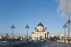 La cattedrale di Cristo il salvatore. Fotografia Stock Libera da Diritti