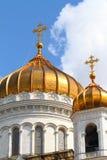 La cattedrale di Cristo il salvatore Immagine Stock Libera da Diritti