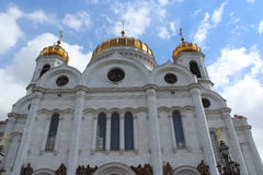 La cattedrale di Cristo il salvatore a Mosca Immagini Stock