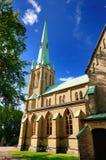 La cattedrale di Goteborg Fotografia Stock