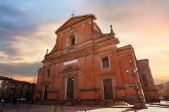 La cattedrale di Imola fotografie stock