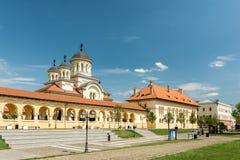 La cattedrale di incoronazione di Alba Iulia Fotografie Stock