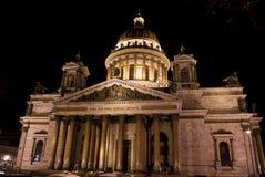 La cattedrale di Isaac del san o Isaakievskiy Sobor in San Pietroburgo, Russia Fotografie Stock Libere da Diritti