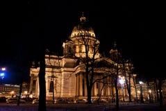 La cattedrale di Isaac del san o Isaakievskiy Sobor in San Pietroburgo, Russia Immagini Stock
