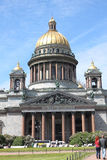 La cattedrale di Isaac del san a St Petersburg, Russia fotografia stock libera da diritti