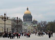 La cattedrale di Isaacs del san, St Petersburg Immagini Stock Libere da Diritti
