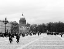 La cattedrale di Isaacs del san, St Petersburg Fotografia Stock Libera da Diritti