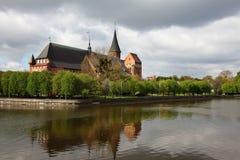 La cattedrale di Kaliningrad Fotografie Stock Libere da Diritti