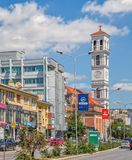 La cattedrale di Madre Teresa benedetta in Pristina immagine stock libera da diritti