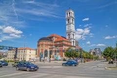 La cattedrale di Madre Teresa benedetta in Pristina immagini stock libere da diritti