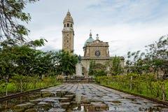La cattedrale di Manila, Filippine immagine stock libera da diritti