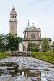 La cattedrale di Manila, Filippine fotografia stock