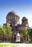 La cattedrale di Narva Voskresensky, tempiale ortodosso Narva L'Estonia fotografia stock