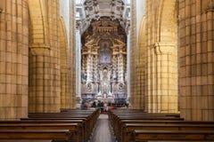 La cattedrale di Oporto Fotografia Stock