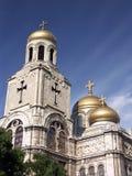 La cattedrale di presupposto Fotografia Stock