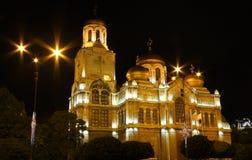 La cattedrale di presupposto Immagini Stock