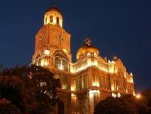 La cattedrale di presupposto Immagine Stock Libera da Diritti