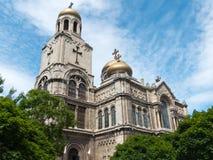 La cattedrale di presupposto Fotografie Stock Libere da Diritti