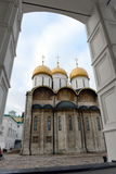 La cattedrale di presupposto del Cremlino di Mosca Fotografia Stock Libera da Diritti