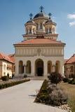 La cattedrale di riunificazione in Iulia alba Fotografia Stock