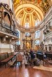La cattedrale di Salisburgo (DOM di Salzburger) a Salisburgo, Austria Immagini Stock Libere da Diritti