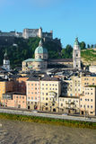 La cattedrale di Salisburgo (DOM di Salzburger) a Salisburgo, Austria Fotografia Stock Libera da Diritti