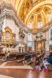 La cattedrale di Salisburgo (DOM di Salzburger) a Salisburgo, Austria Immagine Stock