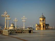 La cattedrale di Sameba fotografia stock