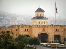 La cattedrale di Sameba fotografia stock libera da diritti