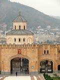 La cattedrale di Sameba immagini stock libere da diritti