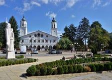 La cattedrale di San Giorgio in Panagyurishte, Bulgaria immagini stock