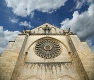 La cattedrale di San-Maurice, irrita. La Francia Fotografia Stock