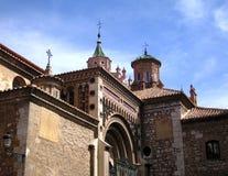La cattedrale di Santa MarÃa de Mediavilla Fotografia Stock Libera da Diritti