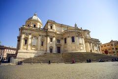 La cattedrale di Santa Maria Maggiore, barocco di Roma fotografia stock libera da diritti