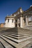 La cattedrale di Santa Maria Maggiore, barocco di Roma immagini stock libere da diritti
