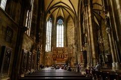 La cattedrale di Santo Stefano (Stephansdom) a Vienna Fotografia Stock