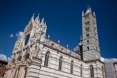 La cattedrale di Siena Fotografie Stock
