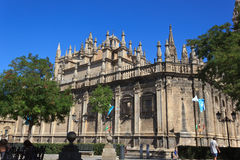 La cattedrale di Siviglia Fotografia Stock Libera da Diritti